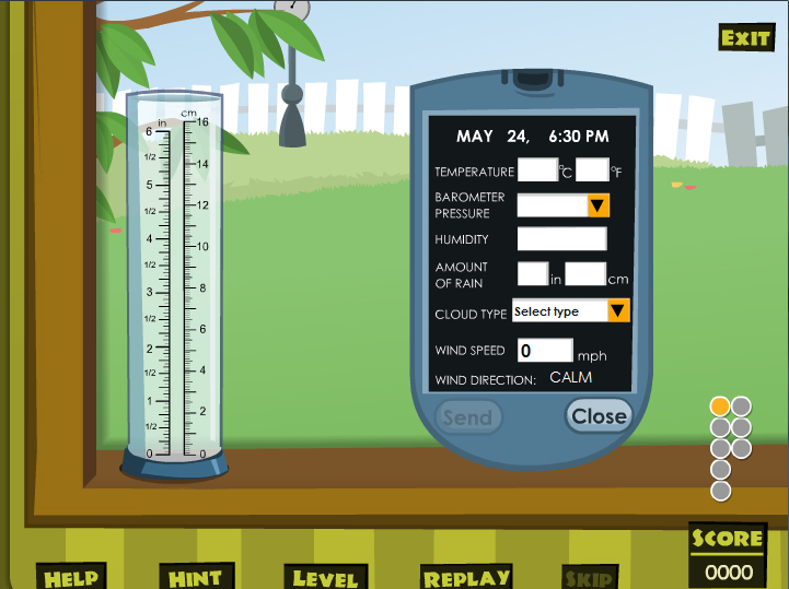 Weather Equipment Reading And Learning Activity